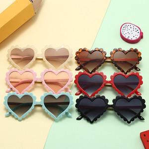 Boy Girl Sunglasses Kids Love Frame Sunglasses High quality Fashion Kids Heart Children Gift Beach Sunglasses