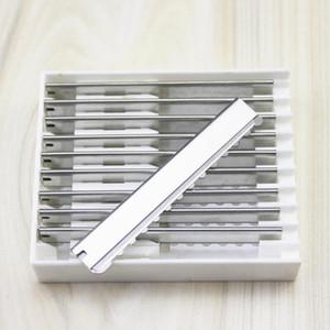 58% Rabatt auf Gerade Rasierer Ersatzköpfe Safe Sägezahn-Salonklingen Typ Home-Werkzeug Friseur Gesicht Haare Rasierter Schneidetrock