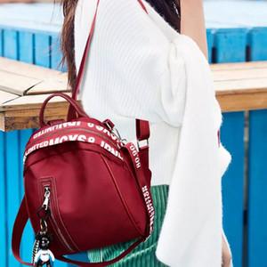 Casual Oxford Backpack Women Black Waterproof School Bags for Teenage Girls Bags