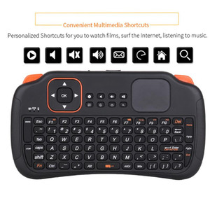 Keyboards Mini Wireless Keyboard 2.4G Mouse Remote Control Touchpad For Android TV BOX PC With