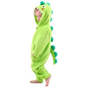 Little Boys Dinosaur Dragon Costume Onesie Girls Christmas Reindeer Costumes -Kids Fleece Pajamas