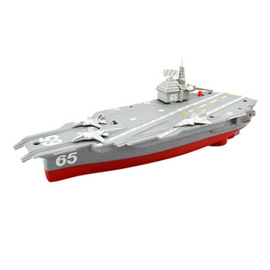 Electric Plastic Mini Aircraft Carrier Children Toy Model