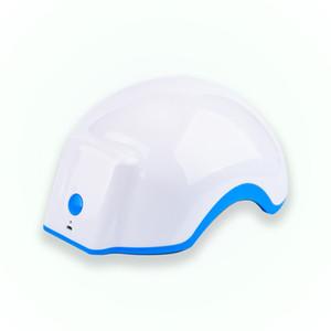 Sistema de crescimento do cabelo do laser do laser Produto de perda de cabelo da bateria recarregável para homens mulheres capacete de crescimento de cabelo laser