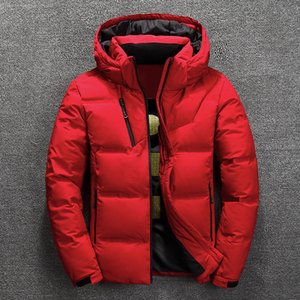 Jackets Mens Casual Warm Thick Quality Men Winter Coat Duck Down Jacket Man