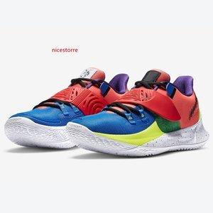 kutu Irving'in spor ayakkabılar tenis ayakkabıları mağazasının ile satışa Koyu Sashiko NY NY vs Harmony erkek basketbol ayakkabıları ucuz yeni Kyrie Düşük 3 Glow