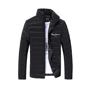 Brand Pepe Winter Jackets Mens Coats Sport Fitness Jacket Men Clothes Zipper Jacket Coat Men Bomber Gym Casaco Masculino