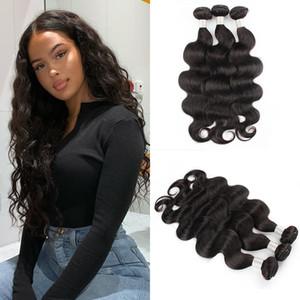 9a mink brésilian vierge cheveux bundles forfaies 3pcs lot brésilien brésilien bundles de cheveux humains lâche vague profonde vague kinky cheveux droit cheveux