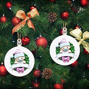 Adornos de Navidad Decoración colgante de regalo personalizado familia de productos del árbol de navidad colgante DWB2346