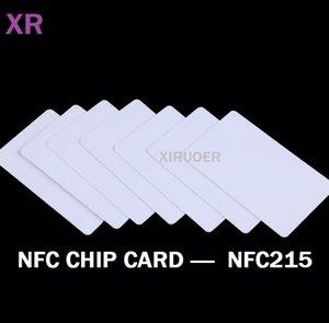 NFC 215 بطاقات 1000 قطع nfc العلامة 215 رقاقة بطاقة nfc المنتدى نوع 2 بطاقة الذكية rfid 13.56 ميجا هرتز سفينة سريعة