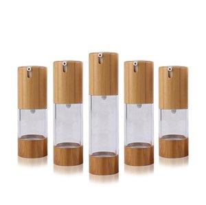 15ml / 30 ml / 50 ml de bouteilles de lotion de vide transparent transparent transparente