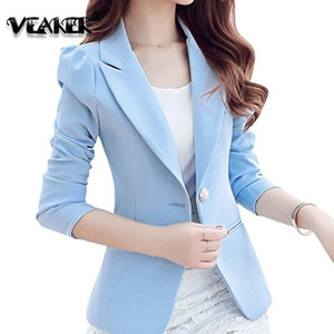2020 Spring New Women's Blazer Suit Elgant Kate Jackets Slim Fit Coat Office Wear Female Suit Blazer White blue black 9 Colors