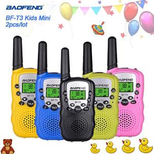 Kids radio Baofeng BF-T3 2pcs set children's walkie talkie mini toys for children kid gift Portable Two-Way Transceiver