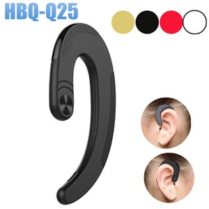 2018 High Quality HBQ-Q25 Cordless Headphones Wireless Bluetooth V4.2 Earphones Waterproof Bluetooth Earbuds Sports Headset With Mic