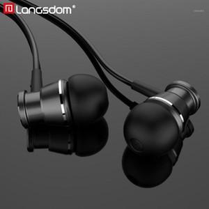 Langsdom Mini Loley Wired Earhone наушники M305 для музыкальных игр спортивные портативные гарнитуры SUPER BASS стерео с микрофоном1
