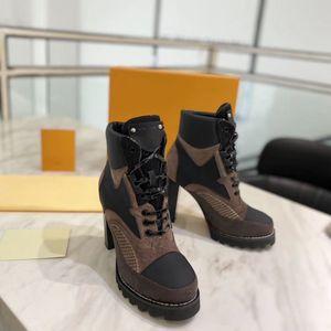 Nuovo 2020 Scarpe da donna classico stile europeo, Ladies'Shoes, Martin Boots, alta decorazione tacco Moto Stivali, stivali sexy gomma inferiore