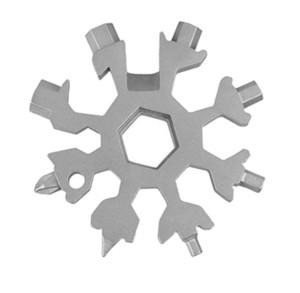18 anahtarlık 1 kamp anahtarlık için alet çok fonksiyonlu zam içinde multipurposer açık açıcılar çoklu Spanne altıgen anahtar FWF2358 snowflake hayatta