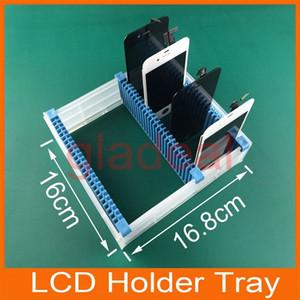 Al por mayor universal ranuras Antiestát LCD PCB placa madre Soporte Ajustable sostenedor de la bandeja LCD marco de Chapa de reparación de herramientas para Samsung FIl0 #
