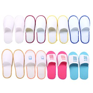 Wholesale disposable slippers hotel disposable goods hotel room disposable slippers logo customization