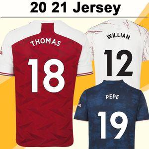20 21 TIERNEY SAKA WILLIAN Home Away 3.e Herren-Fußball-Trikots MAITLAND-NILES THOMAS PEPE kurze Ärmel Jugend-Fußball-Hemd Erwachsene Uniformen
