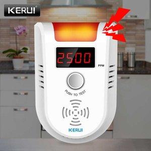 Smart Home Sensor KERUI GD13 Gas Detector Alarm LPG LED Display Wireless Intelligent Voice Auto Detect Nature Leak System
