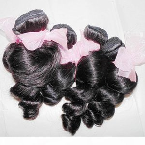 4pcs lot 8A Nice spiral curls loose wave virgin Peruvian hair extensions My DHgate Vendor Big Sale
