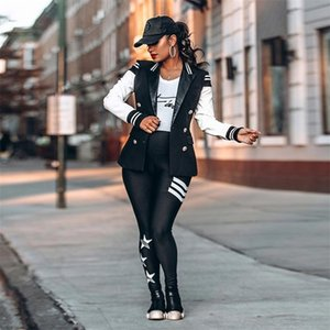 Early Autumn New Women Baseball Jacket Coat Long Sleeve Coat Feminina Baseball Tops hoodies Plus Size Outwear Y201012