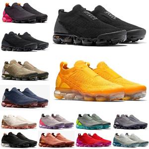 2021 MOC de alta calidad MOC 2 Laceless Fly 2.0 Reaccionar Cojín para hombre Zapatillas de correr neutro Olive Habanero Mujer Zapatos Knit Sneakers Trainers 36-45
