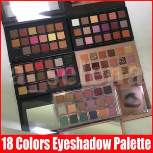 Augen Lidschatten-Paletten-Verfassung 18 Farben Matt Glitter Schimmer Schönheits-Augen-Make-up-Schatten-Kosmetik-Palette 5 Arten für wählen