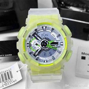 Vendita calda Sport da uomo 110 orologio LED Digital Electronic Watch Royal Oak Large Quadrante di alta qualità Time World Time