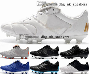 EUR 사이즈 US Premier 2 남자 축구 클리트 여성 46 신발 망 12 FG 38 Crampons de Football Boots chuteiras de Futebol II AG Astro Turf White