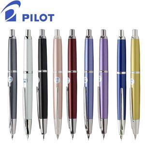 Piloto piloto Decimo 18K Gold Nib Press Fountain Pen Y200709