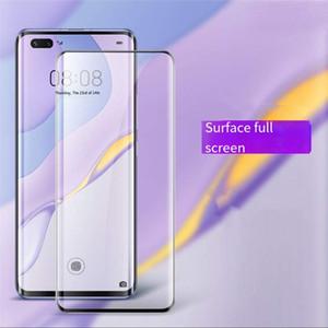3D película de diamante curvada pantalla completa HD curvado en caliente adecuada para Huawei nova7pro P30Pro P40Pro vidrio templado película