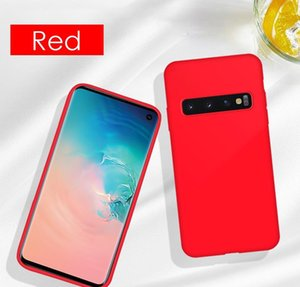 Liquid Sile Phone Case For Samsung Galaxy S8 S9 S10 S20 Plus Ultra S10e Note 8 9 10 Pro Soft Sho jllyPS yyysports