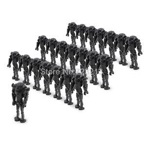 100pcs lot C014 Battle Droid Trooper Figures Building Block Model Building Set kits Bricks DIY Toys for Children 1008