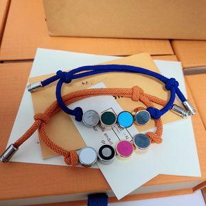 Hot Sell Wholesale Jewelry Couple Bracelet multi colors beads lover BRACELETS Adjustable Size