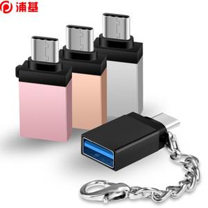 Adaptateur de type C 4 Pack de type C mâle à usb femelle 3.1 Convertisseur de type C OTG pour Samsung Note 8 / S8 / S8 Plus / MacBook Pro