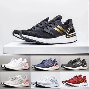 2020 Ultraboost 6 .0 20 Consortium UB6 .0 Entraîneur Primeknit Runner Mode Courir Sneaker Chaussures de sport pour hommes, femmes avec logo
