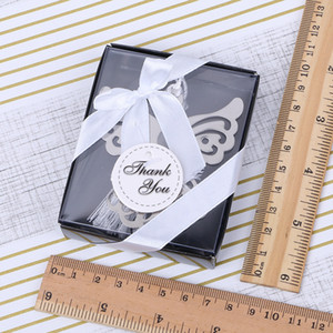 Caselle di metallo creativo segnalibro cavo angelo aquila aquila acciaio inox segnalibri di cancelleria regalo aziendale regalo di nozze festa baby shower EEF3989