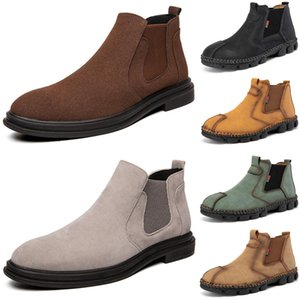 2020 mens boots luxury fashion booties yellow winter ankle platform men trainers sneakers boot size 40-44 color11