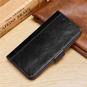 for iphone 11 pro xs max xr Luxury Genuine Leather Flip Wallet Case for Samsung Galaxy S10 Note 10 Plus for huawei p30 plus mate 20 x Cover