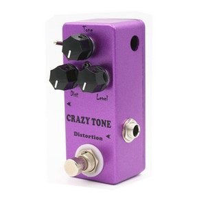 CRAZY TONE Distortion Guitar Effect Pedal Distortion Pedal DIST LEVEL