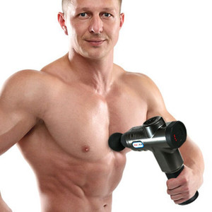 Rechargeable fascia gun electric massage gun muscle relaxation massager portable fitness equipment Z0126