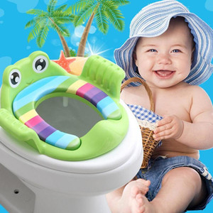 Baby Toilet Potties Children Potty Safe Seat With Armrests for Gril Boy Trainers Comfortable Toilet Large Size Ring Infant Pottyyy