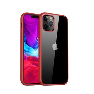 Crystal Transparent Phone Case for Iphone 12 7 8 11 xr xs max 6.1 Slim Case Cell Phone Protective Cover Silicone Bumper Full Protective Case