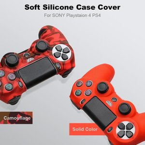 For Sony Ps4 Controller Silicone Case Cover For Ps4 Gamepads With 2 Thumbsticks Grips Cap jllBnO book2005