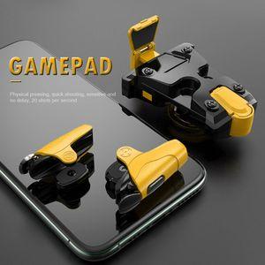 4,7-6,5 polegadas Mobile Phone Gamepad aperto para Game PUBG Universal Controlador Gatilho Botão Joystick Assistant acessório do jogo Tiro