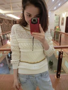 Heavy needle pullover l689