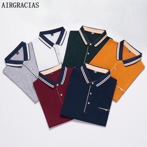 AirGracias camisa hombres 2020 verano hombre camisa hombre color sólido hombres manga corta alta cantidad homme1