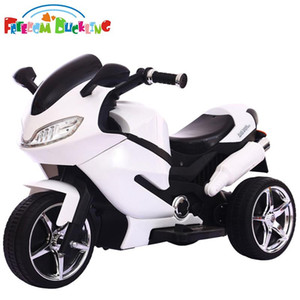 2020 Children's electric motorcycle, kids tricycle, 2-5-8 years old male and female baby charging remote control toy car can sit