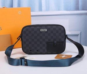 LOU1S VU1TTON N40188 Alpha mulheres de couro torção bolsa Messenger Bag Ombro bolsos Totes Sacos Mochila Carteiras